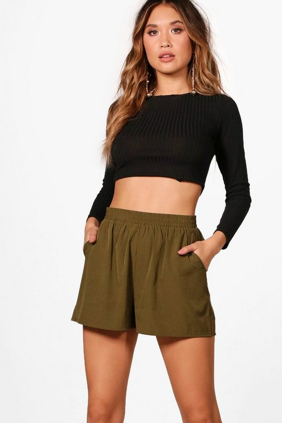 Gretta Tailored Woven Shorts