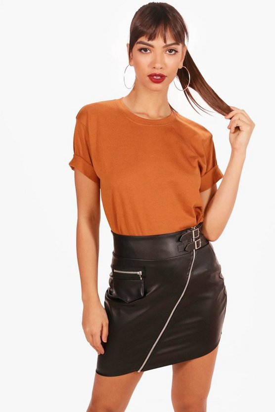Kayla Basic Oversized T-Shirt