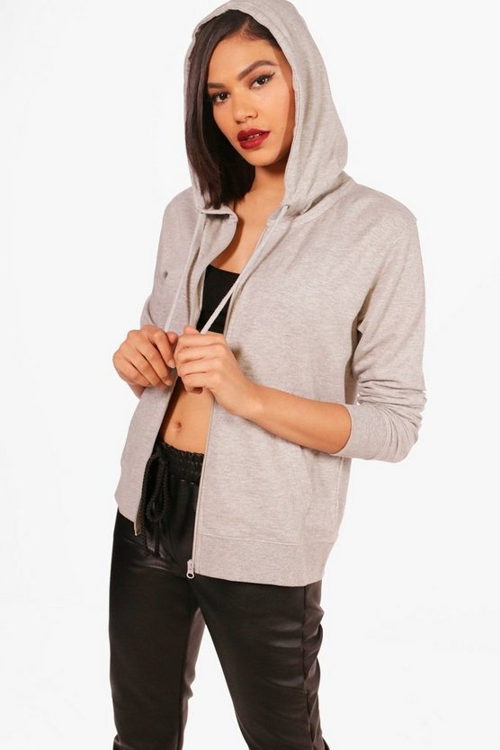 Beth Zip Through Hoody