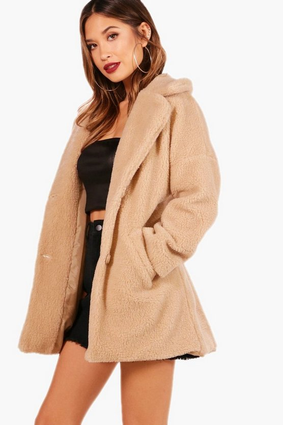 Ellie Teddy Fur Coat
