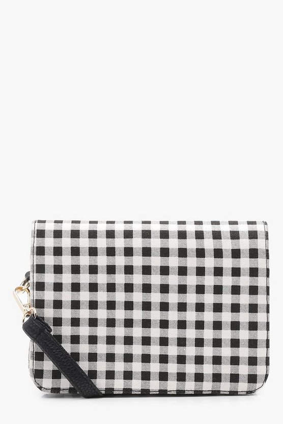 Lucy Gingham Boxy Cross Body