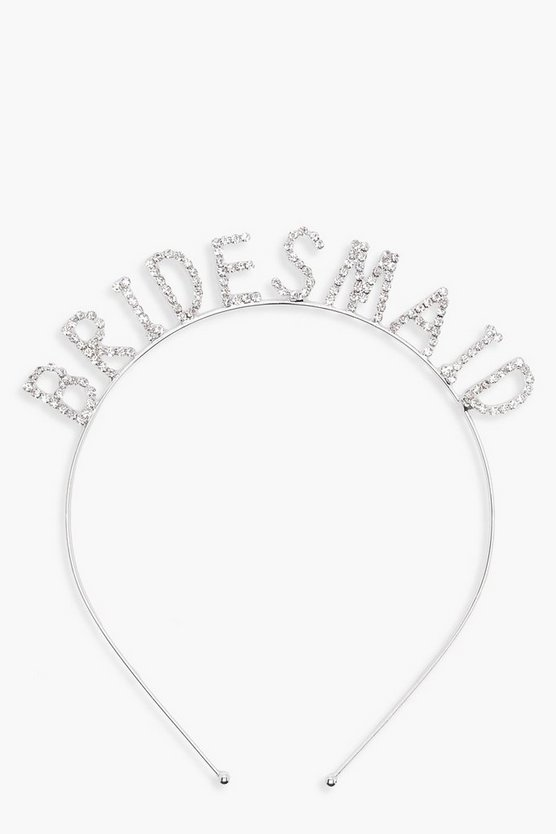 Hetty Diamante Bridesmaid Metal Headband