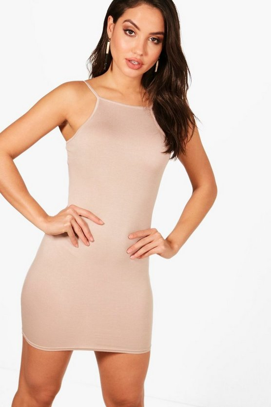Brooke Square Neck Cami Bodycon Dress