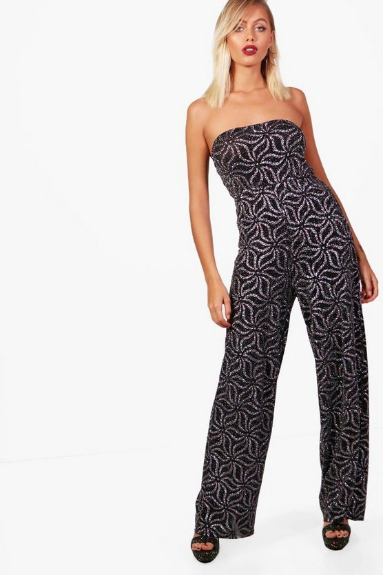 Lily Off the Shoulder Wide Leg Jumpsuit