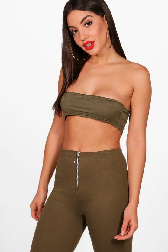 Sofia Basic Cropped Bandeau