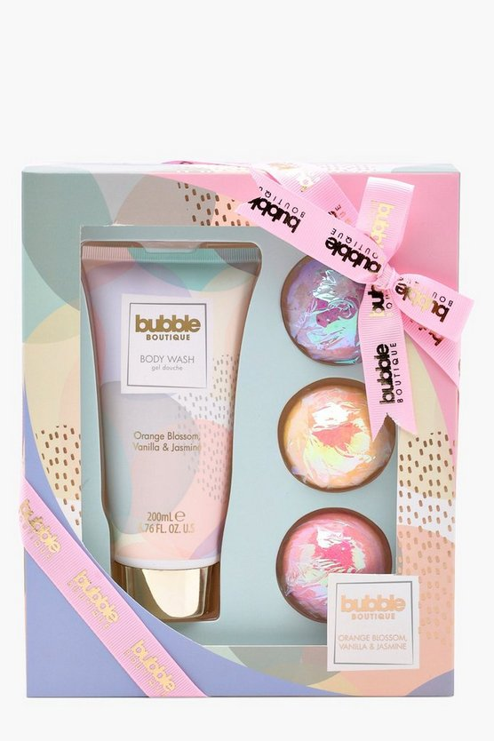 S&G Bubble Boutique Bath Bombed Set