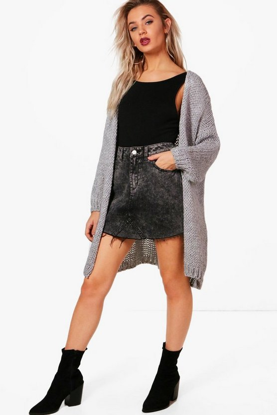 Kelsie Lurex Knit Cardigan