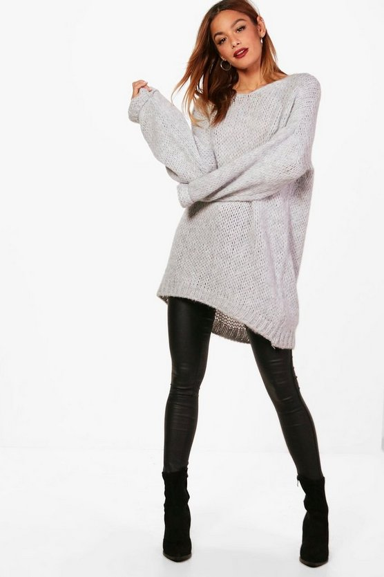 Isabel Oversized Slouchy Premium Knitted Jumper