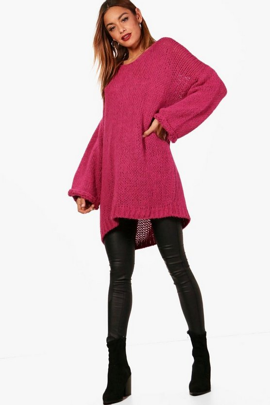 Hayley Oversized Slouchy Premium Knitted Jumper