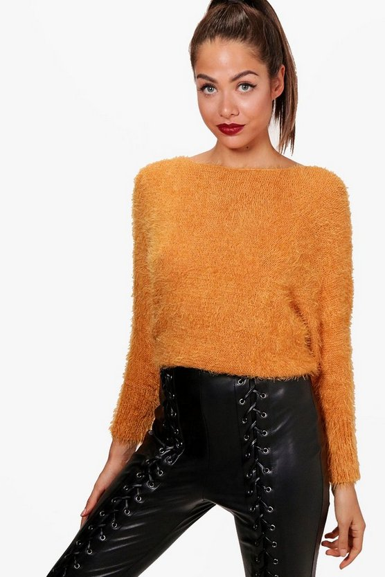 Abbie Oversized Fluffy Knit Jumper
