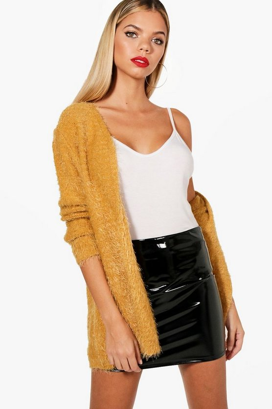 Chaise Fluffy Knit Cardigan