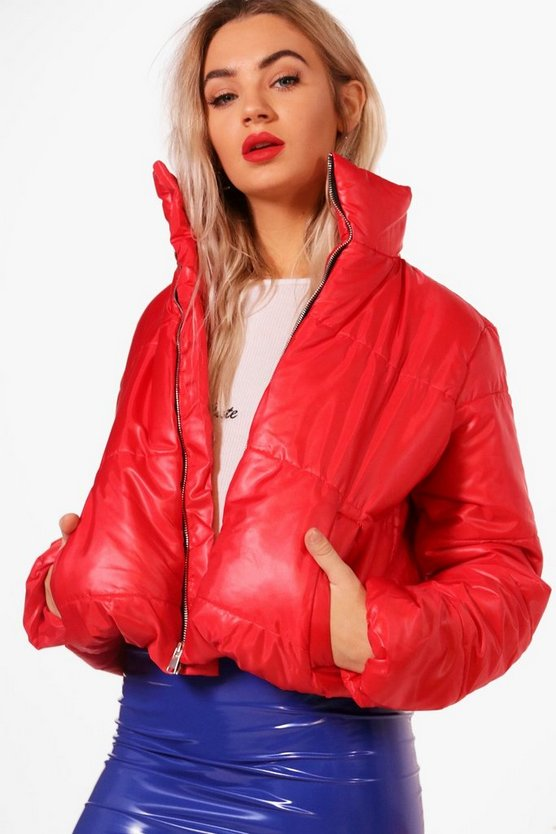 Brenna Crop Padded Jacket