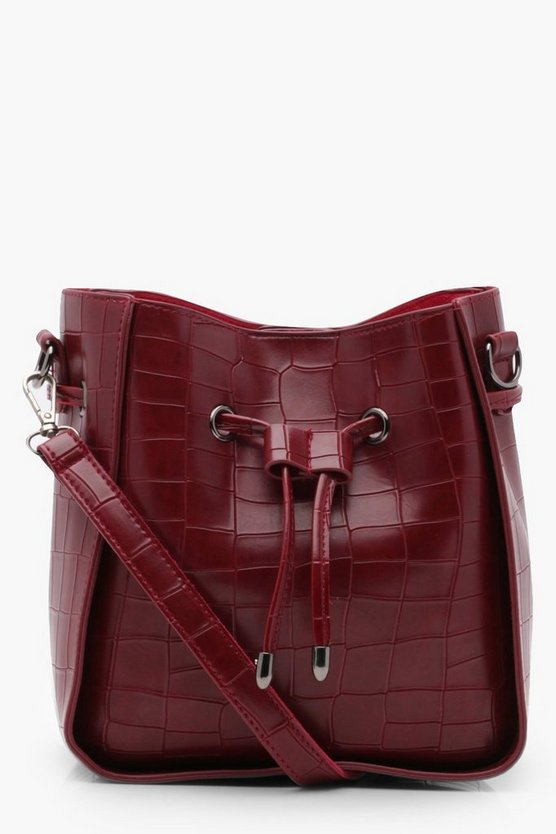 Rosie Croc Cross Body