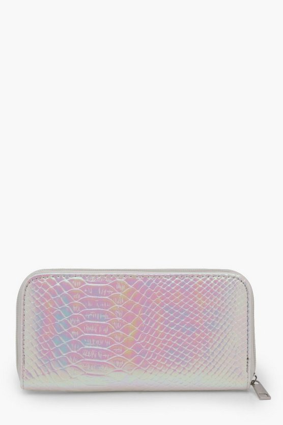 Ellie Holographic Snake Mermaid Purse