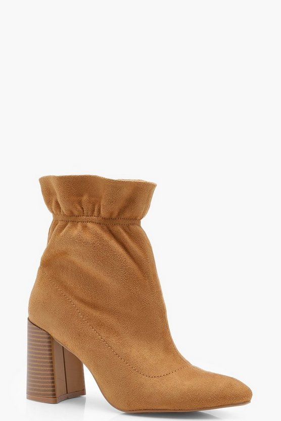 Ankle Detail Sock Boots