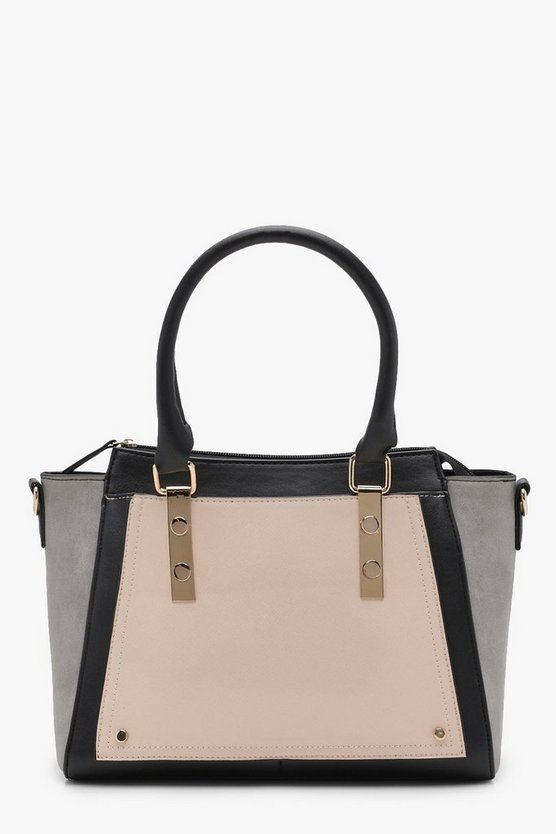 Darcy Colour Block Tote