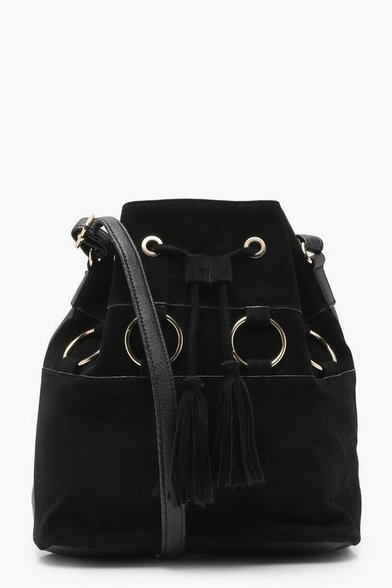 Sophie Suedette Ring Duffle Bag