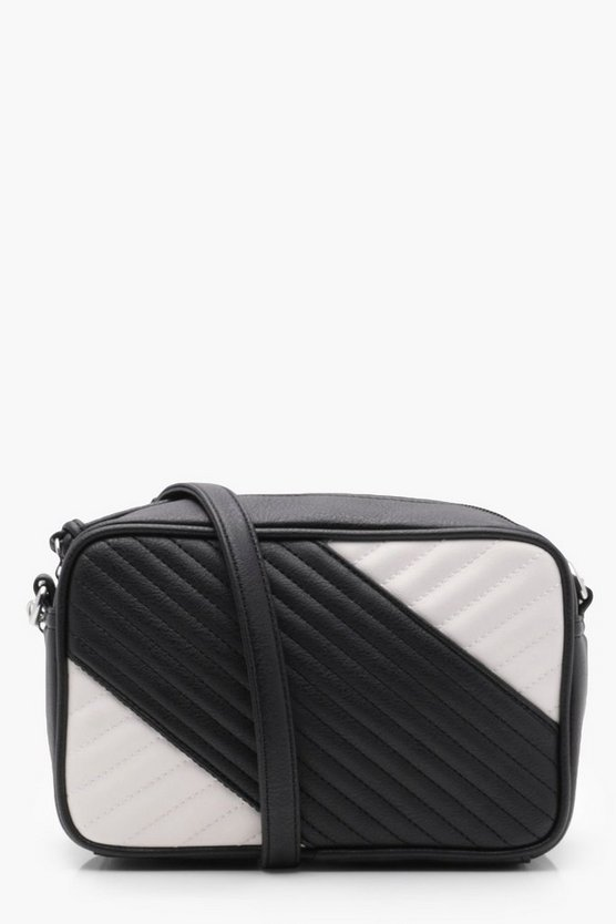Sara Mono Quilted Camera Bag