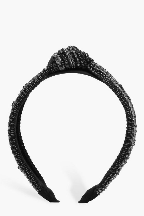 Simone Embellished Twist Knot Headband