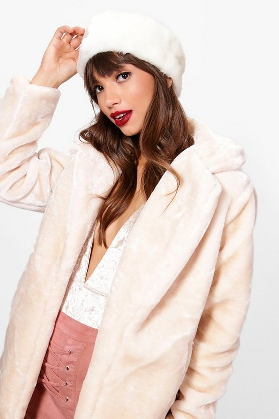 Beth Faux Fur Cossack