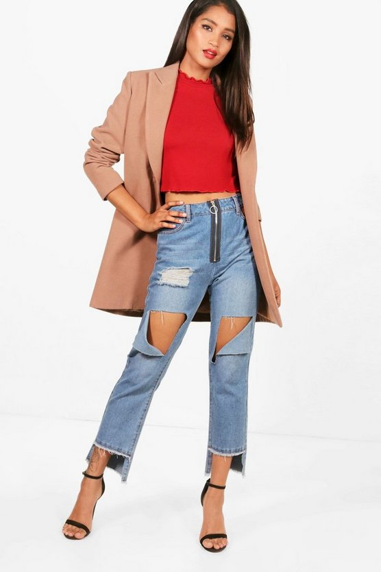 Tamzin Tailored Button Coat
