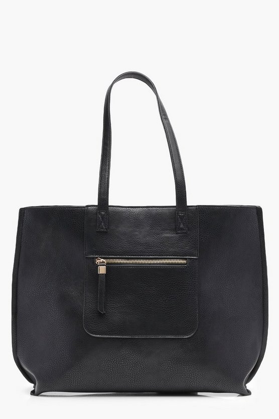 Ria Zip Pocket Shopper Bag