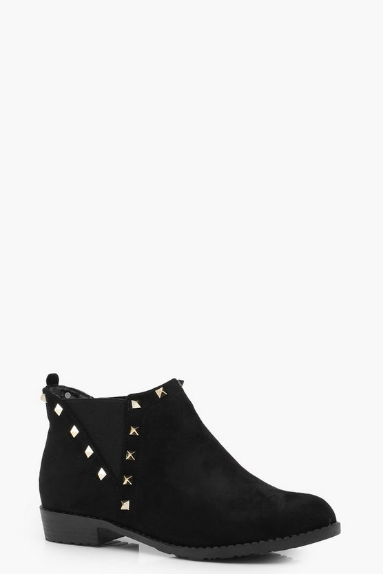 Millie Stud Detail Chelsea Boot