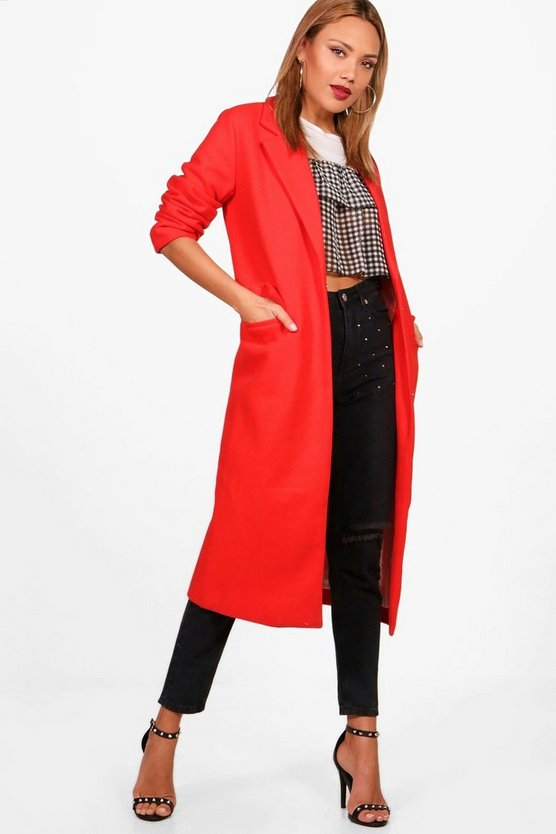 Ivy Wool Look Coat
