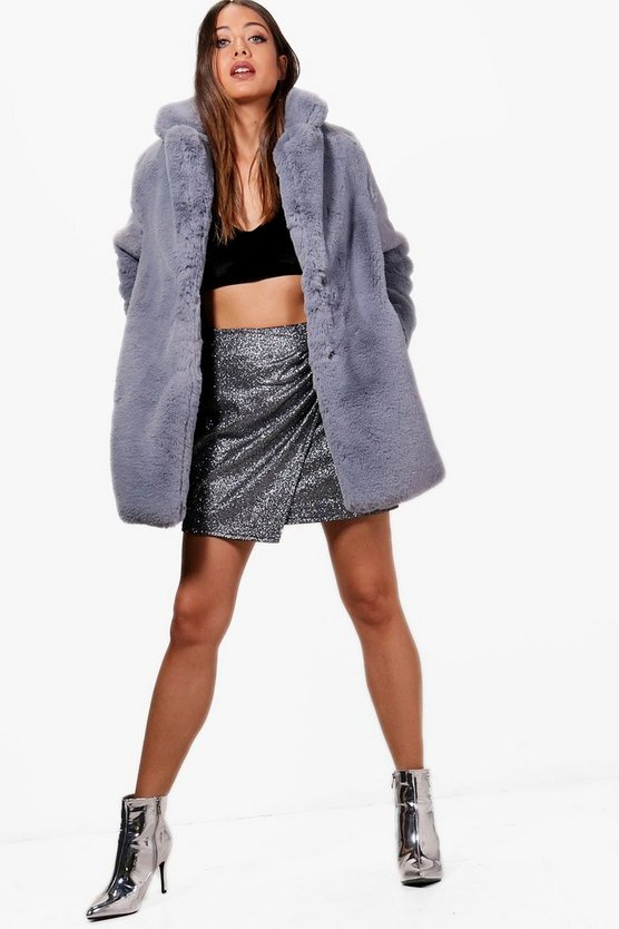 Kayla Luxe Faux Fur Coat
