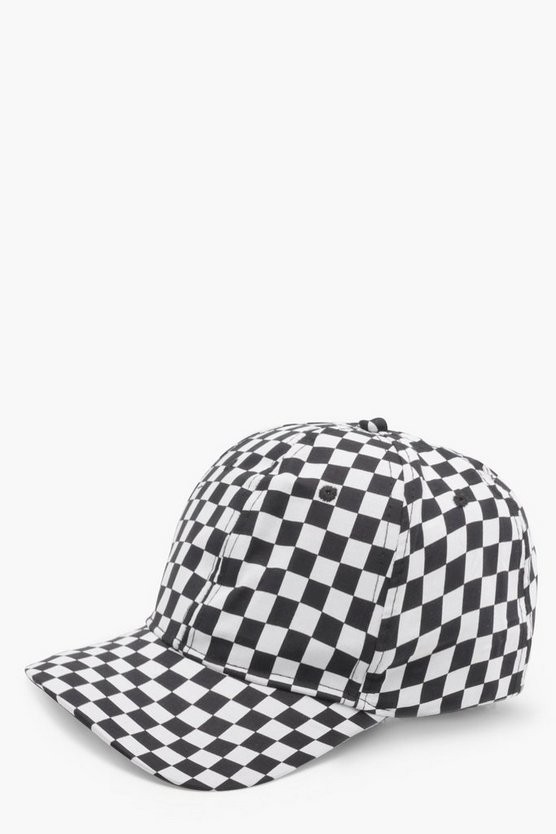 Imogen Checkerboard Baseball Cap