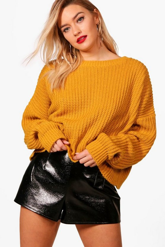 Abigail Wavey Hem Soft Knit Jumper