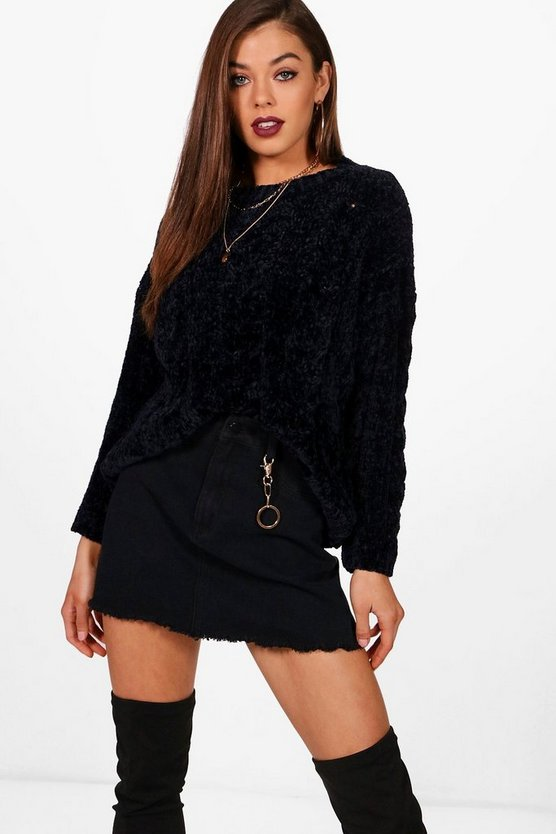 Melissa Cable Chenille Jumper