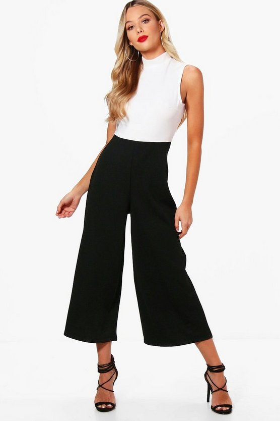 Arabelle High Neck Culotte Jumpsuit