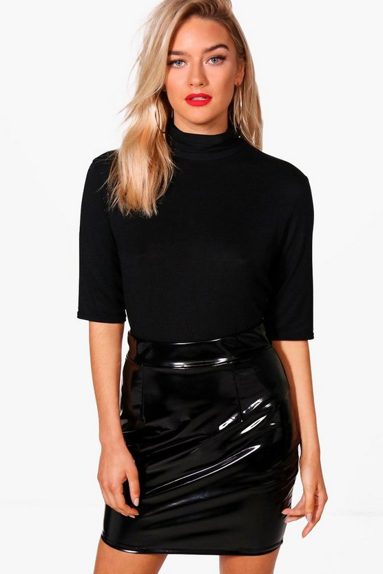 Amilie 3/4 Sleeve Roll Neck