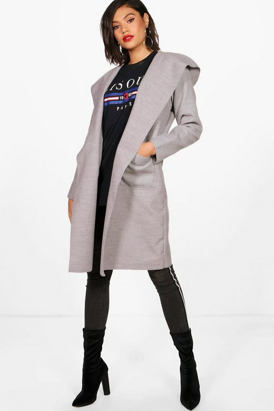 Samantha Hooded Coat