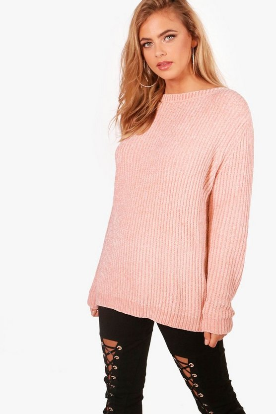 Lucy Chenille Oversized Jumper