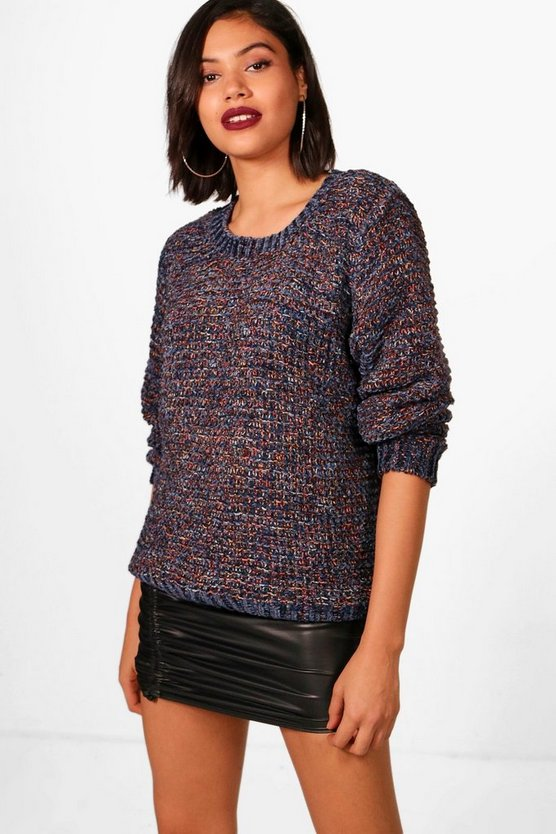 Sammi Multi Stitch Chenille Jumper