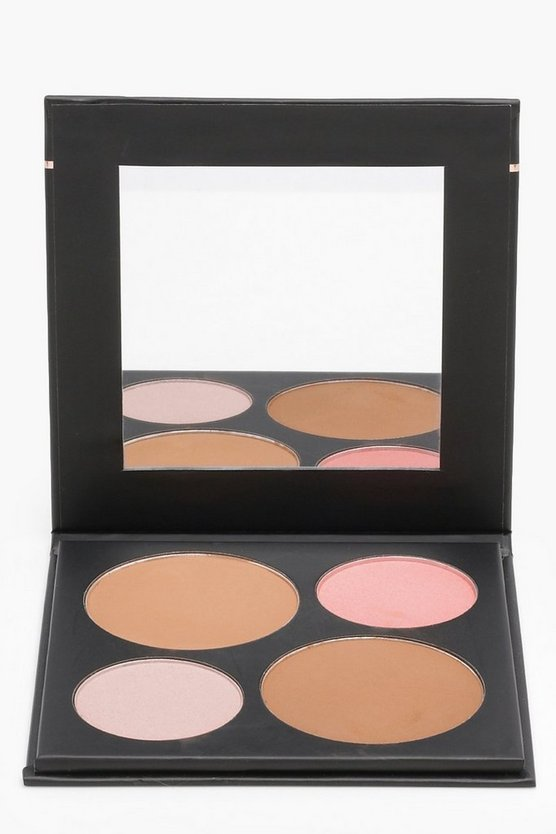 Boohoo Bronze And Highlight Palette