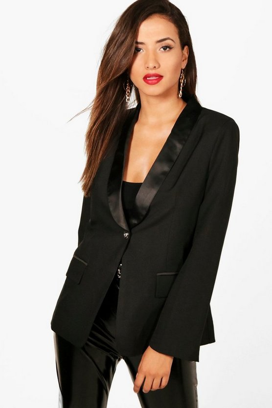 Olivia Boutique Tux Tailored Blazer