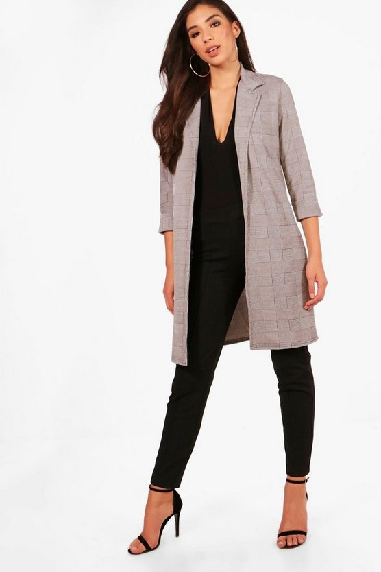 Arabella Check Duster