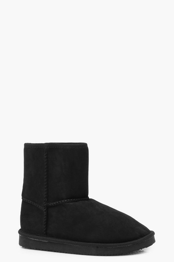 Sophia Faux Fur Lined Medium Length Boots