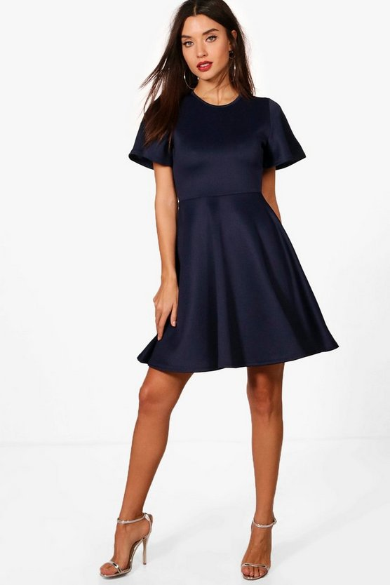 Tyler Short Sleeve Skater Dress