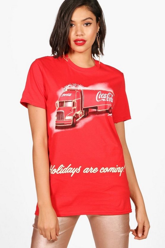 Paige Coca Cola Christmas Van Licensed Tee
