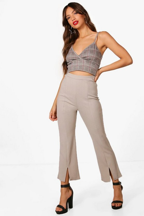 Slim Split Cuff Trouser