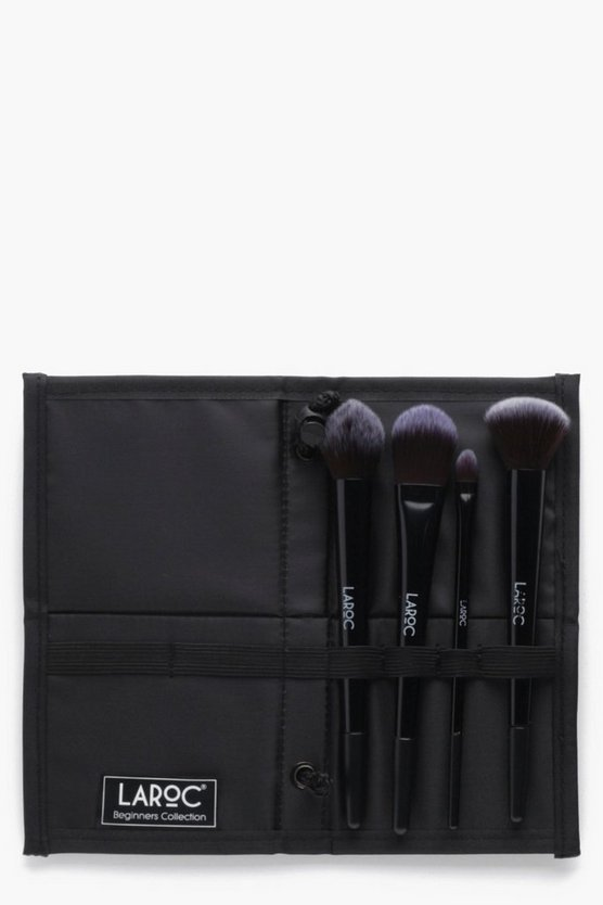 Professional Black 4 Piece Brush Set