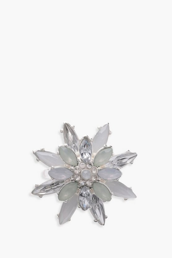 Martha Diamante Flower Ring