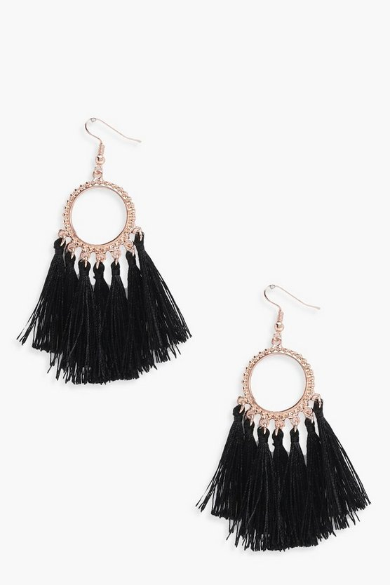 Rebecca Multi Tassel Boho Earrings
