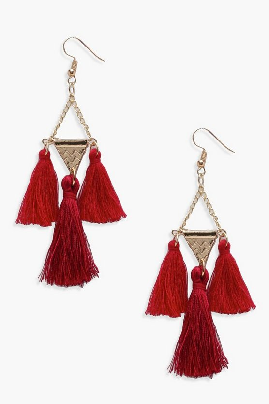 Sophie Chandelier Tassel Earrings