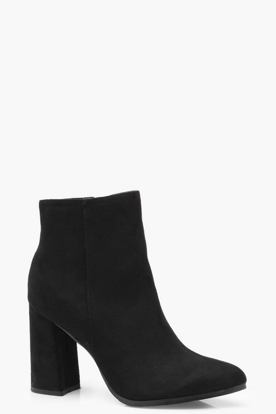 Sarah Flared Heel Shoe Boot