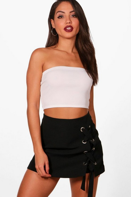 Polly Basic Rib Bandeau